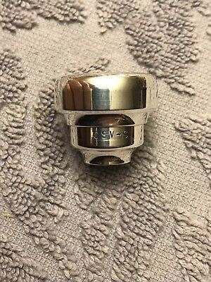 CSV-S Trumpet Mouthpiece Top Warburton Threads. Demo Lightly Used
