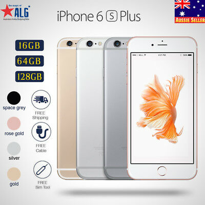 New Sealed Factory Unlocked APPLE iPhone 6S Plus+ 64GB 128GB 4G LTE Mobile