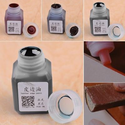 1 Bottle  30ml  Leather Edge Oil Paint DIY Handmade Goods