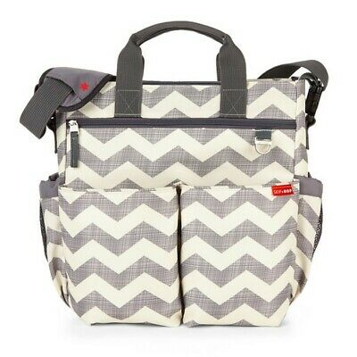 Skiphop Duo Signature Nappy Changing Bag Chevron