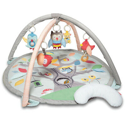 SkipHop Treetop Baby Activity Gym Play Mat Toy Grey/Pastel