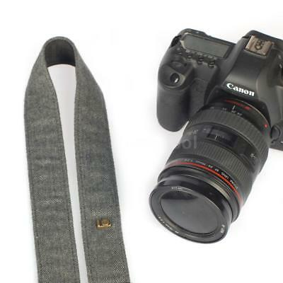 Vintage Camera Shoulder Neck Strap Sling Belt for Nikon Canon DSLR Camera E6B5