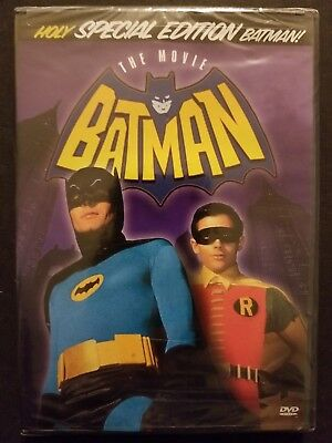 Batman: The Movie (DVD, 35th Anniversary Special Edition) 1966 Adam West NEW OOP