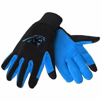 Carolina Panthers Nfl Texting Technology Gloves Free Shipping