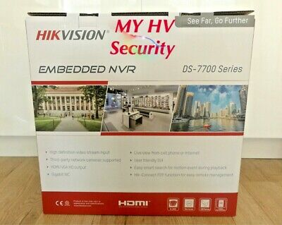 Hikvision DS-7732NI-I4-16P 32 Channel 4K 3TB HDD NVR AUS stock 3Yr Warranty