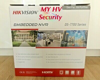 Hikvision DS-7732NI-I4-16P 32 Channel 4K No HDD NVR AUS stock 3Yr Warranty