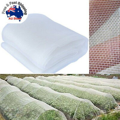 Garden Mosquito Netting Hunting Barrier Protect Planter Insect Bird Net 2.5x6m