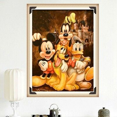 Mickey&Donald Brother Full Drill Diamond Painting Embroidery Cross Stitch MA
