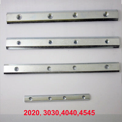 180° Stright Inside Connector For 2020-4545 T-Slot Aluminium Extrusion Profile