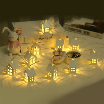 Christmas House Light LED String Wedding Garland New Year Decorations Xms Gift