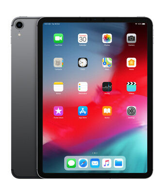 "Neuf Apple iPad Pro 2018 11"" 64GB Wi-Fi Version - Gris sidéral"