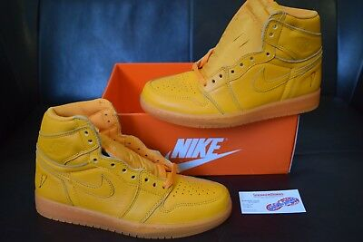 New Men's Air Jordan 1 Retro High OG Gatorade Sz 8 Orange Peel AJ5997-880