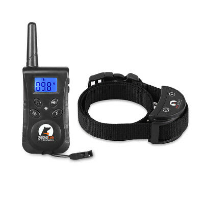 Dog Training Shock Collar 500M PaiPaitek PD520 Swimming Rechargeable Remote