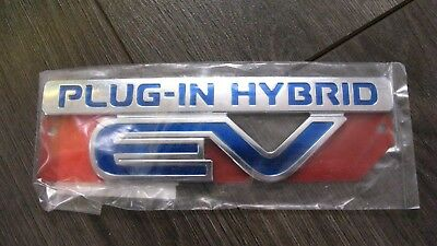 Genuine Mitsubishi Outlander Phev Plug-In Hybrid Ev Badge