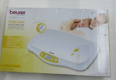 Beurer Baby Scale, Toddler Scale, Pet Scale, 45 Pound (lbs) Weight Capacity