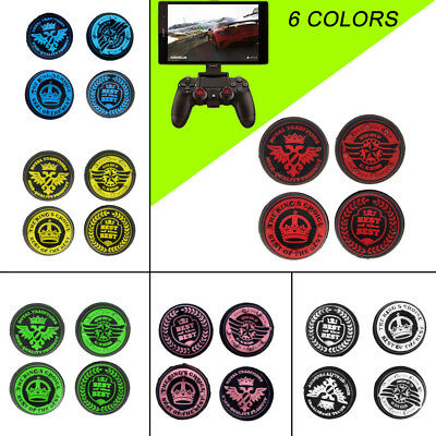 4 Pcs Analog Joystick Thumb Stick Grips Cap Cover for PS4 Xbox One Controller