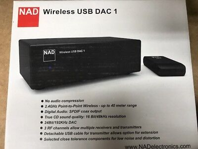 NAD Wireless USB DAC-1