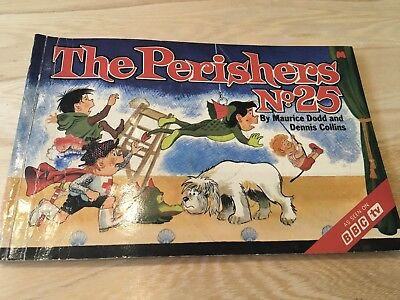 The Perishers Book No.25 Maurice Dodd & Dennis Collins Daily Mirror Book Vintage