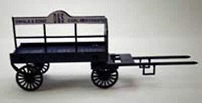 Expo 95672 N Gauge Horse Drawn Coal Wagon Ncw1 Model Railway Laser Cut Wood Kit