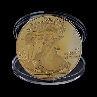 2000 Statue of Liberty Commemorative Coin Souvenir Coin Collection Carft Gift PL