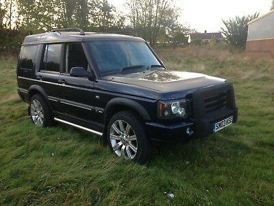 2003 Land Rover Discovery TD5 GS Manual 7 Seater Model Rear Air Bag Suspension