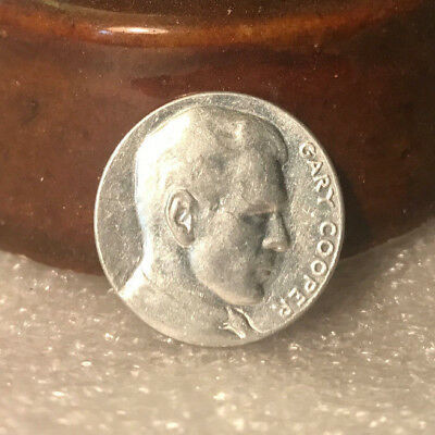 Vintage 1930's Popsicle Token Prize Coin Gary Cooper Paramount Star