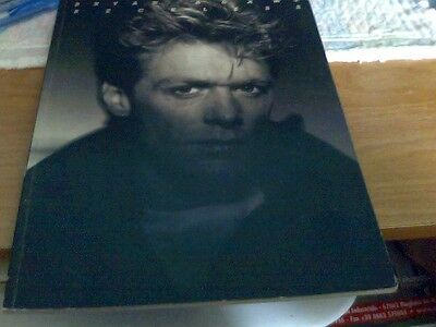 A 1984 Bryan Adams Reckless Song And White Concert Tour Books