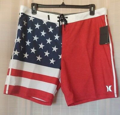 76253f40b0 MEN'S HURLEY PHANTOM Cheers American Flag 18