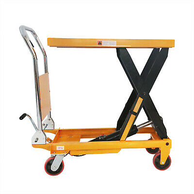 APOLLOLIFT MANUAL DOUBLE Scissor Lift Table | 1760lbs 59 1