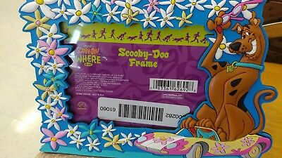 Scooby Doo Resin Photo Frame 2001 vintage unused free ship