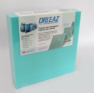 3M DRI-EAZ #F368 Replacement dehumidifier filter for Drizair 1200 Pack of 3
