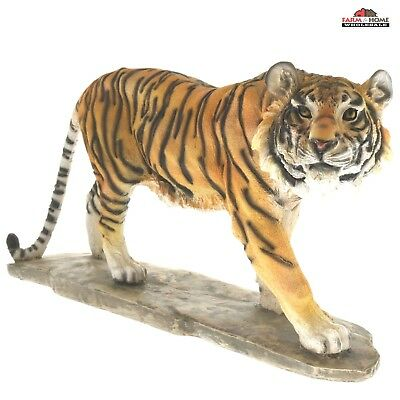 "Tiger statue 16"" Home decor - NEW"