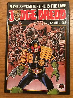 Judge Dredd Annual 1983 Fleetway annuals in good condition.