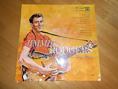 JIMMIE RODGERS - HIS GOLDEN YEAR! -VG RARE 1st 1958 PRESS USA! R 25057