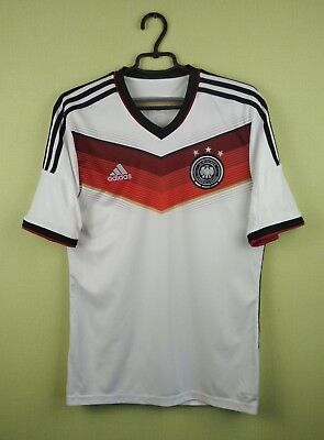 fe57825c13a2e GERMANY JERSEY SHIRT 2014 World Cup Home adidas football soccer size ...