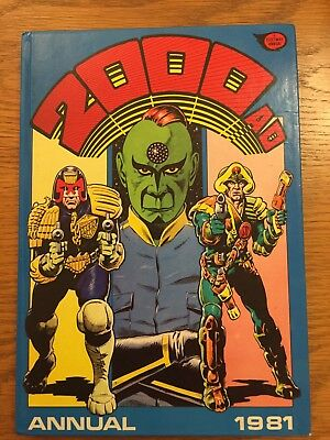 2000AD annual 1981 Good Condition