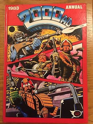 2000AD Annual 1983 Good Condition