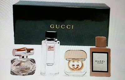 b0b4861fe3a GUCCI MINIATURE PERFUME GIFT SET 4 X 5 ml GUILTY