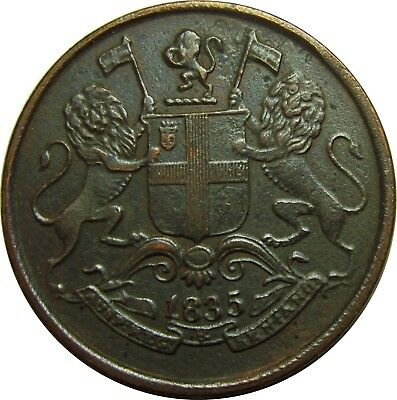 1835 British East India Company 1/4 Anna