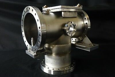 """MDC Varian 8"""" Conflat Multi-Port High Vacuum Chamber Stainless Steel UHV CFF CF"""
