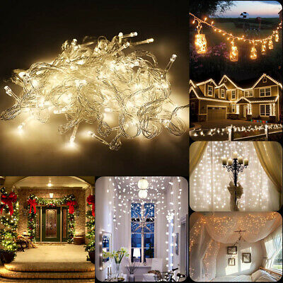 2M-10M Battery Operated String Fairy Lights Christmas Decoration XMAS Light Lamp