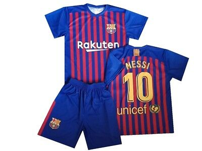 Barcelona Fanshirt & Shorts Messi 10 Kinder boys trikot shirt 18/19