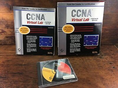 Ccna Virtual Lab Platinum Edition (640-801) Lab Simiulation Software Cisco Ed