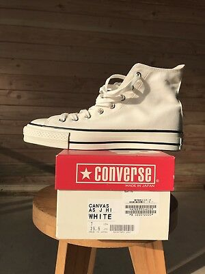 Converse All Star RARE Made In Japan White Size 7