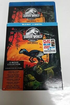 Jurassic World 5-Movie Collection (Blu-ray Disc)