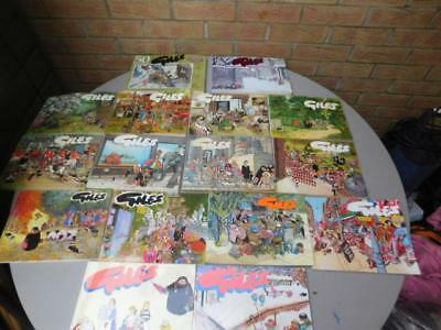 Job Lot Giles Cartoons Annuals Daily Express Comic strip 1970's/80's unclipped