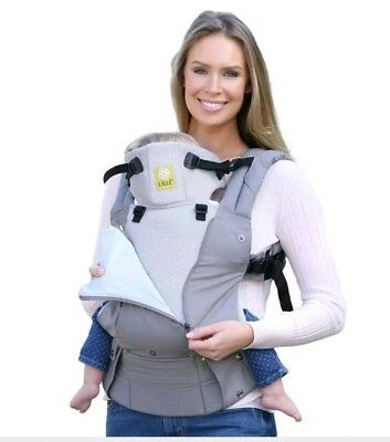 AUTHENTIC Lillebaby Complete Baby Carrier All Season Stone grey-READ DESCRIPTION