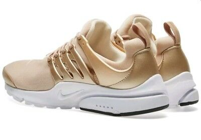 Nike Air Presto Premium Blur Metallic Gold Size 10 848141-900 100% Authentic 49b56ec60