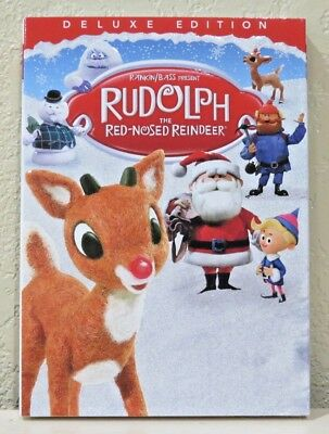 Rudolph the Red-Nosed Reindeer (DVD, 1964 Deluxe Edition) NEW>FREE SHIPPING!