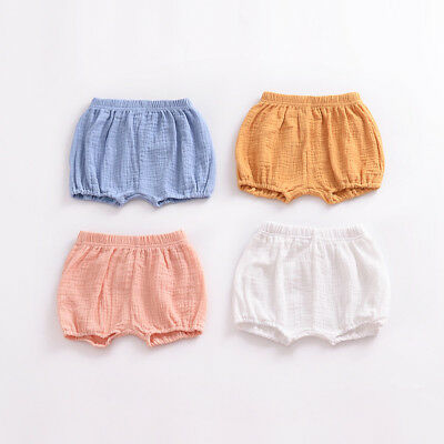 Toddler Girl Shorts Baby Pants Infant Baby Kid Cotton Pants Bottom Cotton Linen